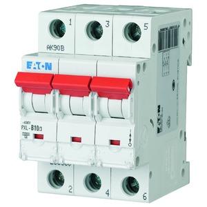 PXL-D10/3, LS-Schalter D-Charakter 10A, 3-polig, PXL-D10/3