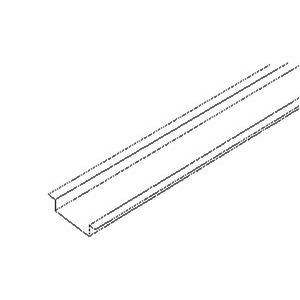 536/2, Tragschiene nach DIN EN 60715, 7,5x35x2000 mm, ungelocht, Stahl, bandverzinkt DIN EN 10346
