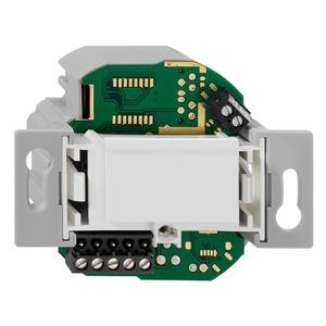 proLock IP Secure AE Up rw, proLock IP Auswerteeinheit, komplett, für Wandeinbau, passend für handelsübliche TAE-Zentralstücke, Netzwerkanschluss über Schraubklemmen,  reinweiß (