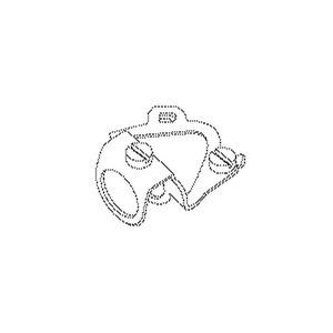 446E, Leuchtenaufhänger, 30x29,5x18 mm, Rohr-Ø 13 mm, Stahl, galvanisch verzinkt DIN EN ISO 2081, blaupassiviert