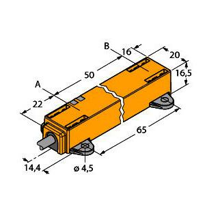 LI50P1-Q17LM1-LIU5X2, Induktiver Linearwegsensor