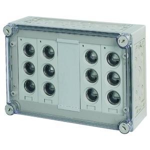 RS33/I43E, Sicherungskasten, 4x3xE33, HxBxT=250x375x150mm