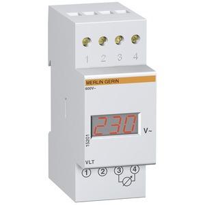Modulares Digitalvoltmeter VLT, 230V, 0-600 V