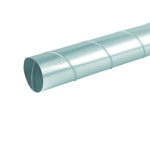 LWF 100 - 2, Wickelfalzrohr DN 100, Stahlblech verzinkt, 2 m lang