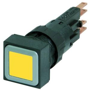 Q25LT-GE/WB, Leuchtdrucktaste, gelb, tastend, + Glühlampe 24 V