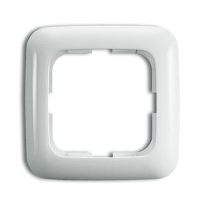 2511-214, Abdeckrahmen, alpinweiß, SI/Reflex SI, Rahmen Reflex SI