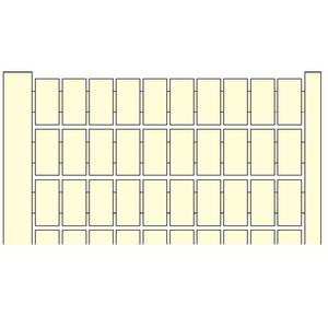RC510 1->100 Horizontal, RC510 Klemmenblockmarkierungen vorgedruckt 1-> 100 horizontal