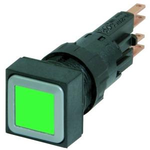 Q18LT-GN/WB, Leuchtdrucktaste, grün, tastend, + Glühlampe 24 V
