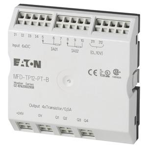 MFD-TP12-PT-B, E/A-Modul mit Temperaturerfassung für MFD-Titan, Bereich B, 6DI(2AI), 2I-Pt100, 4DO-Trans