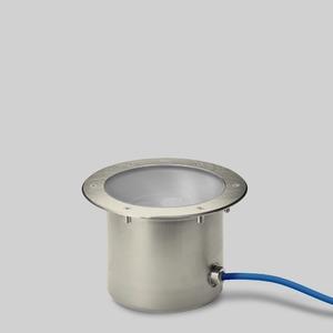 Bodeneinbauleuchte, RGBW DALI-Steuerung, Device Type 8,rutschhemm.