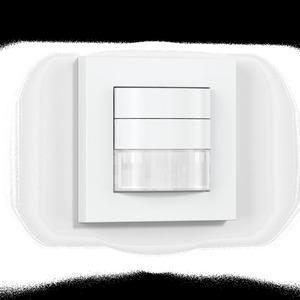 IR 180 KNX - weiß, Präsenzschalter Passiv Infrarot, Unterputz, IP20, 180° Reichweite max: r = 20 m (628 m²)