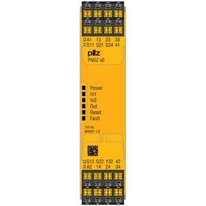 PNOZ s6 24VDC 3 n/o 1 n/c