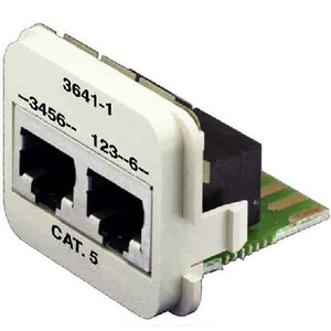 INSERT CAT5E 10/100BT & ISDN /W