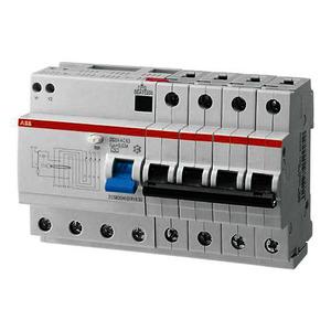 DS204 A-B40/0,03, DS204A-B40/0,03 FI/LS-Kombination 6kA,4P,Typ A,B 40A,30mA