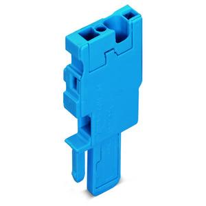 769-501/000-006, 1-Leiter-Federleisten-Anfangsmodul 4 mm² 1-polig blau