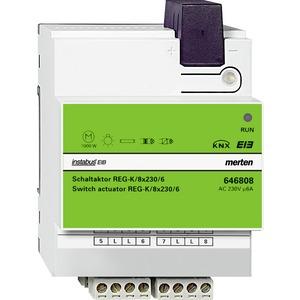 Schaltaktor REG-K/8x230/6, lichtgrau