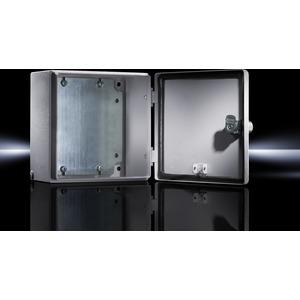 EB 1553.500, Elektro-Box EB 1553500 lackiert RAL 7035