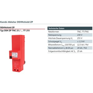 Überspg.-Schutz DSH ZP TNC 255 3+0