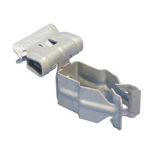 8P24SM, H-PSM Flanschklipp zum Aufschlagen mit Kabelschutzrohr Schelle, seitliche Montage, 1/2 EMT, 18–22 mm (0,709–0,866) OD, 3–8 mm (0,125–0,25) Flansch