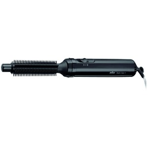 AS 110, Braun Satin Hair 1 AS 110 Small Brush, schwarz