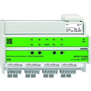 KNX Universal-Dimmaktor LL REG-K/4x230/250 W, lichtgrau