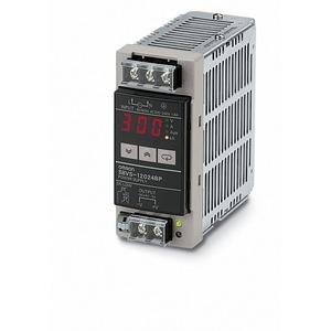 S8VS-12024B, Schaltnetzteil, 120 W, 100 bis 240 VAC Eingang, 24 VDC, 5 A Ausgang, DIN-Schienenmontage, mit Digitalanzeige, NPN