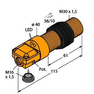 BC10-P30SR-VP4X2, Kapazitiver Sensor