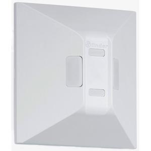 18.61.8.230.0300, Bewegungsmelder für Wandmontage, Lichtschalterersatz, 1 Schließer 10 A, potentialfrei, für 230 V AC
