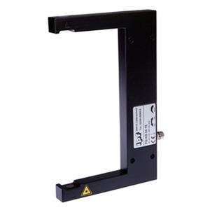 sensor laser,gabel/120 90x144x12 10-35V DC,200mA,Klasse 1,M8-Stecker