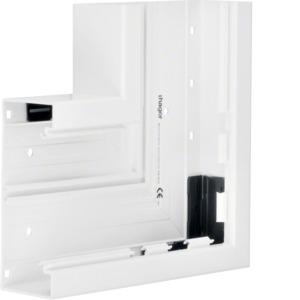Flachwinkel Grundprofil PVC BR 70x170 cw