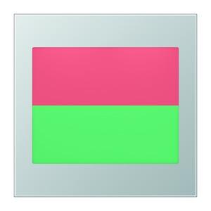 AL 2539-2 LEDRG, LED-Lichtsignal Ampelfunktion, Anzeige: geteilt, oben rot, unten grün