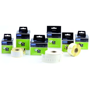 S0719250, 14681 LW-CD/DVD Etiketten, 1 Rolle à 160 Etiketten, Durchmesser: 57 mm, weiß permanent