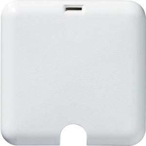 Nennquerschnitt 2,5 mm², besonders flache Ausführung, mit bruchgeschütztem Deckel und Schnappverschluss, herausnehmbarem Klemmstein mit 5 Doppelklemmen, Unterputz, Farbe: polarweiß