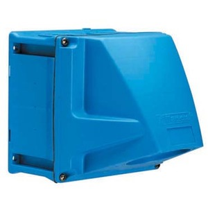 51AA058, WANDSOCKEL POLY BLAU Size.1 +ADAPTER 70 GRAD