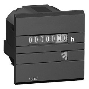 Stundenzähler, mechanische siebenstellige Anzeige, 230V AC 50 Hz