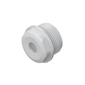 485M20, Dichtungsnippel, M20, für Kabel-Ø 8-12 mm, Kunststoff PE, RAL 7035, lichtgrau