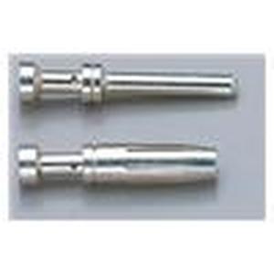 Crimpkontakt, Betriebsstrom: 16A, Stift, Kupferlegierung, versilbert, Leiterquerschnitt: 1,5mm², AWG 16