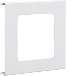 Blende 1-fach R7 Stahl BRS OT 120 cweiß