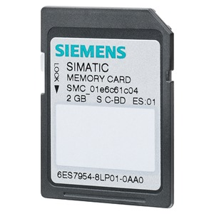 6ES7954-8LL03-0AA0, SIMATIC S7, Memory Card für S7-1x00 CPU, 3, 3V Flash, 256 MByte