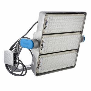 BVP425 1610/957 PSDMX 230V BV S2 T25, ArenaVision LED gen2 - Farbe: Aluminium - Anschluss: Schnellsteckverbinder und Zugentlastung