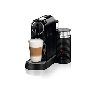EN 267.BAE, Nespresso System, Flow Stop, integrierter Aeroccino, Black
