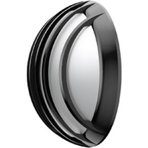 ALIUM GITTER CFL 2, Wand- und Deckenleuchte Alium Gitter CFL 2x13W Schwarz aus Polycarbonat, IP44, IK10, Schutzklasse II