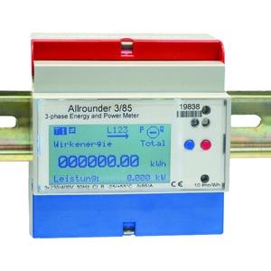 Energiezähler Allrounder, Wandleranschluss 1A oder 5A
