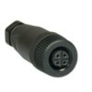 S-K4P-M12-S-G-X-X-X-X-B-1, Steckverbinder ohne Leitung, S-K4P-M12-S-G-X-X-X-X-B-1