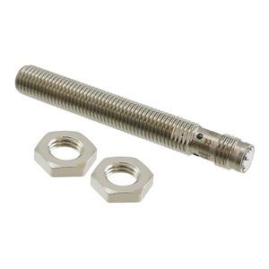 E2A-S08LS02-M5-B2, Näherungsschalter, induktiv, M8, abgeschirmt, 2 mm, DC, 3-adrig, PNP / Öffner, M8 Steckbar