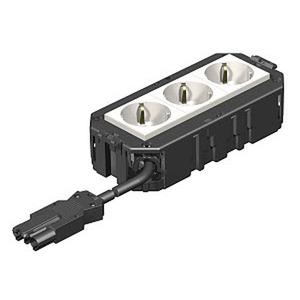 AGB2H1 3W2.5, Anschlussfertiger Gerätebecher halogenfrei