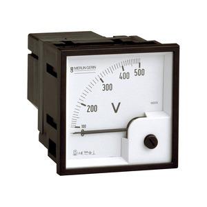 Voltmeter VLT PowerLogic, 96x96, ferromagnetisch, 0-500 V