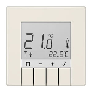 TRD LS 231, Raumtemperaturregler Standard, Display, weiß hinterleuchtet