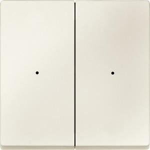 Wippen für Taster-Modul 2fach, weiß, System M