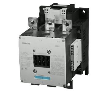 3RT1066-2AM36, Schütz,AC-3,300A/160kW/400V,3-polig,AC/DC200-220V,2S+2Ö,Anschlussschiene/Federzu